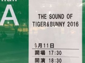 THE SOUND OF TIGER&BUNNY 2016